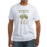 Redneck That's How I Roll Fitted T-Shirt