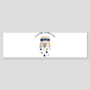 MELT ICE Bumper Sticker