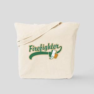 Irish Firefighter Tote Bag