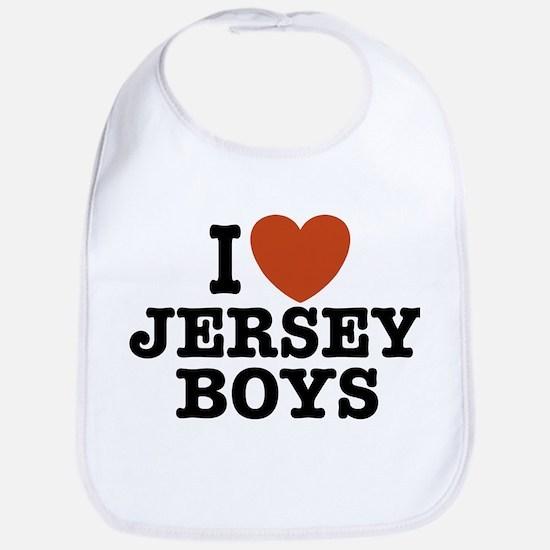 I Love Jersey Boys Bib