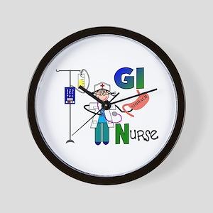 More Nurse Wall Clock