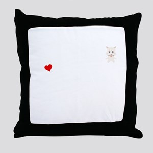 A Life Without A West Highland White Throw Pillow