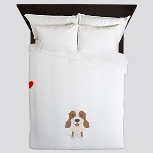 Life Without An English Springer Spani Queen Duvet