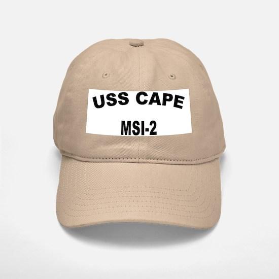 USS CAPE Baseball Baseball Cap