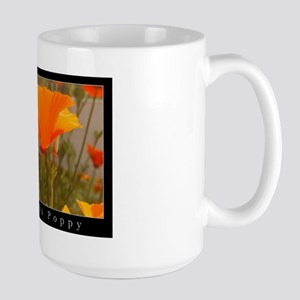 flowers gifts california state flower Large Mug