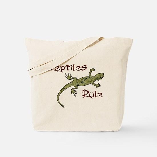 Reptiles Rule! Tote Bag