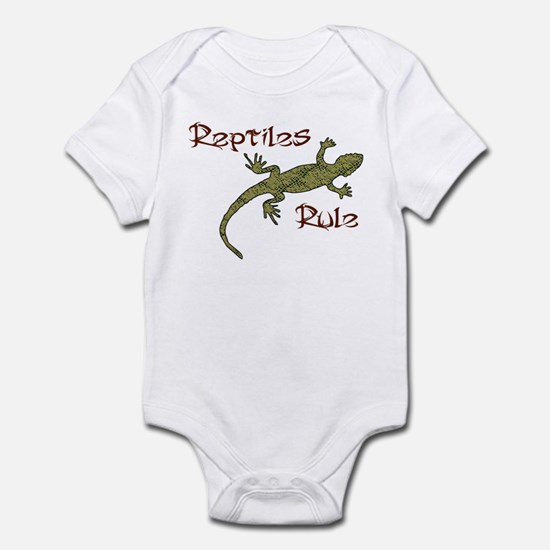 Reptiles Rule! Infant Bodysuit
