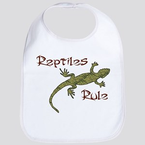 Reptiles Rule! Bib
