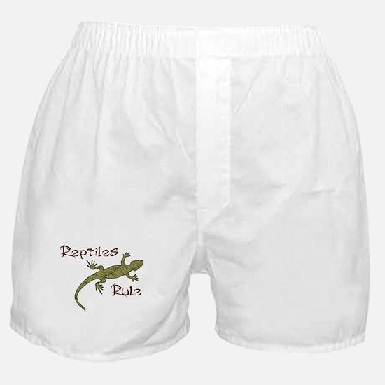 Reptiles Rule! Boxer Shorts