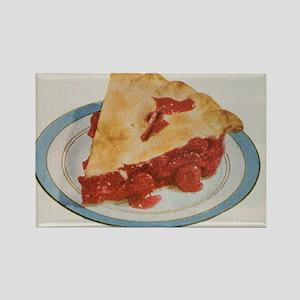 Cherry Pie Rectangle Magnet