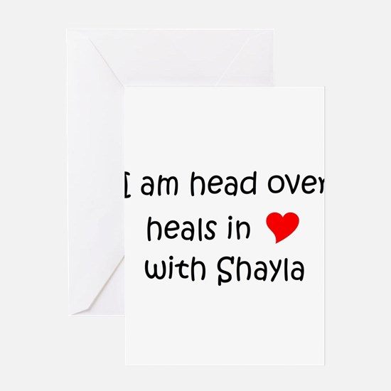 Funny Shayla Greeting Card