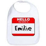 Hello my name is Emilie Bib
