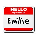 Hello my name is Emilie Mousepad