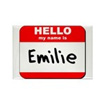 Hello my name is Emilie Rectangle Magnet (10 pack)