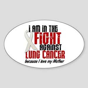 In The Fight 1 LC (Mother) Oval Sticker