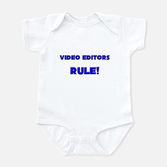 Video Editors Rule! Infant Bodysuit
