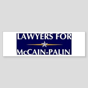LAWYERS for McCain-Palin Bumper Sticker