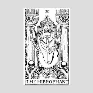 The Hierophant Tarot Card Rectangle Sticker