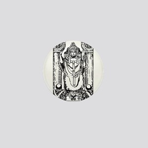 The Hierophant Tarot Card Mini Button