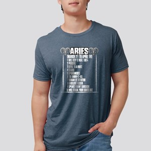 Aries Was Born March 21 To April 19 T Shir T-Shirt