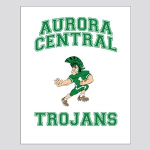 Aurora Central Trojans Small Poster