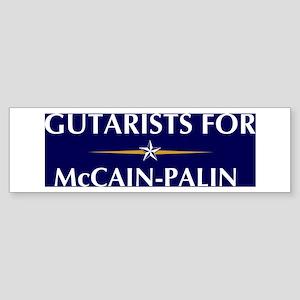 GUTARISTS for McCain-Palin Bumper Sticker