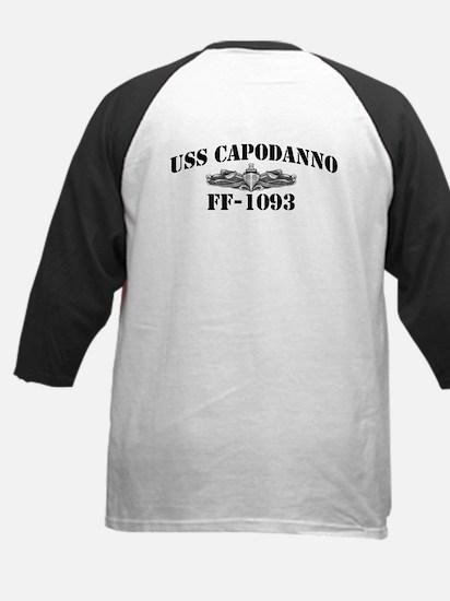 USS CAPODANNO Kids Baseball Jersey