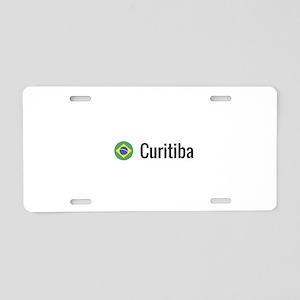 Curitiba Aluminum License Plate