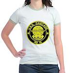 USS CASCADE Jr. Ringer T-Shirt