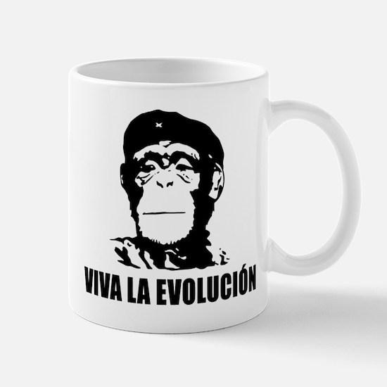 Viva La Evolucion Darwin Mug
