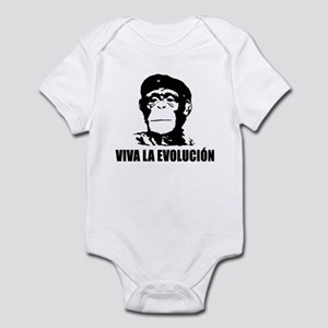 Viva La Evolucion Darwin Infant Bodysuit