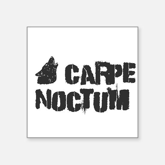 Carpe Noctum Sticker