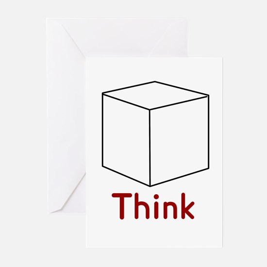 Think Outside the Box Greeting Cards (Pk of 10
