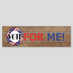 Vote for Me Sticker (Bumper)