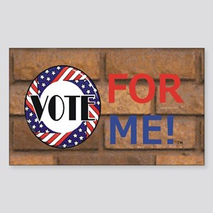 Vote for Me Sticker (Rectangle)
