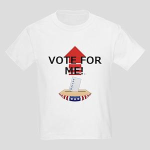 Vote for Me Kids Light T-Shirt