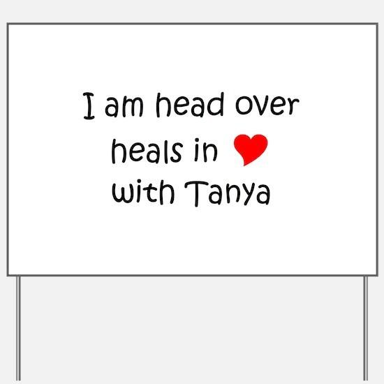 Unique Tanya Yard Sign