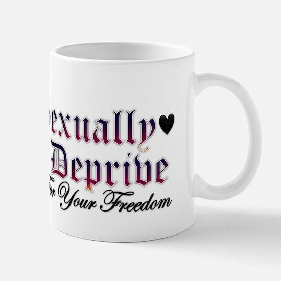 New SectionSexually Deprived Mug