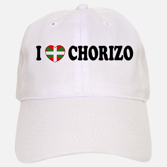 I Heart Chorizo Baseball Baseball Cap