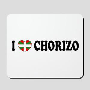 I Heart Chorizo Mousepad