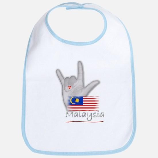 I Love You - Malaysia - Bib