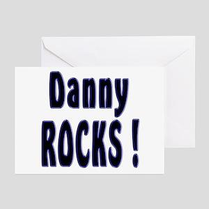 Danny Rocks ! Greeting Cards (Pk of 10)
