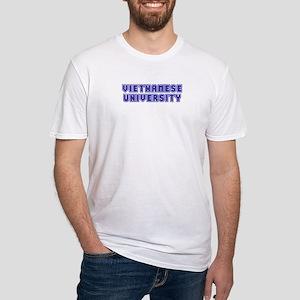 Vietnamese University Fitted T-Shirt