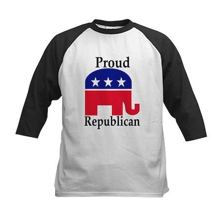 Proud Republican Kids Baseball Jersey