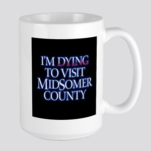 Dying to Visit Large Mug