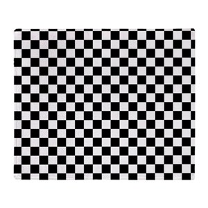 Black And White Checkered Blankets Cafepress