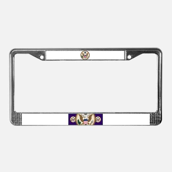 Presidents Seal License Plate Frame