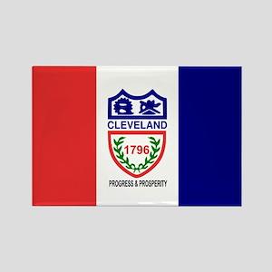 Cleveland, Ohio Rectangle Magnet