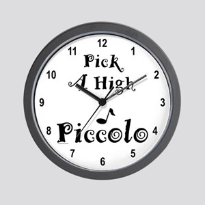 Pick A High Note Wall Clock