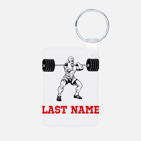 Weight Lifting Keychains
